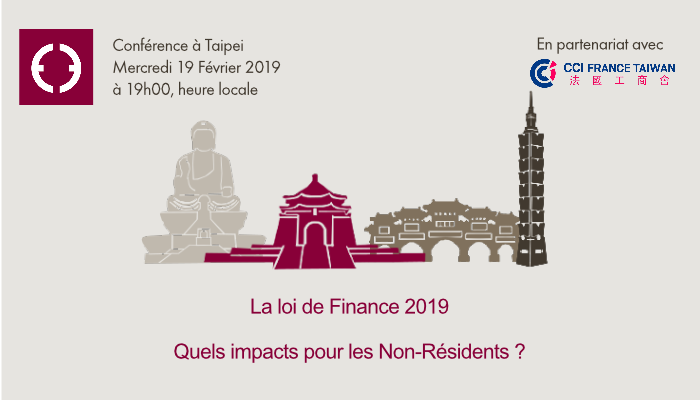 Equance information conférence Taipei février 2019