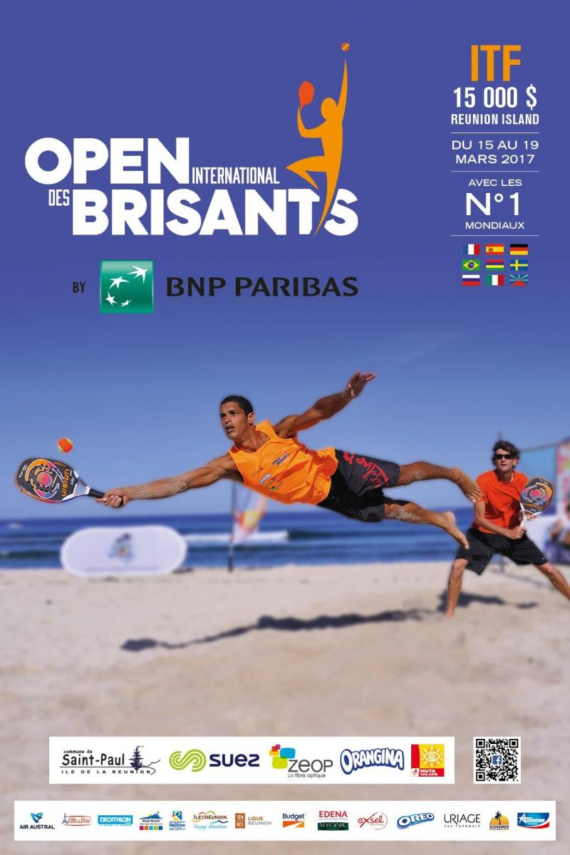 Affiche OPEN INTERNATIONAL DES BRISANTS 2017