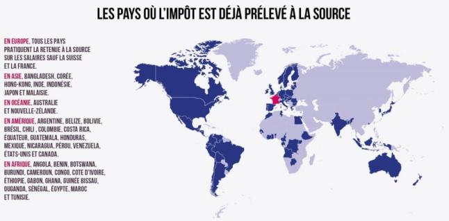 Prelevement A La Source De L Impot Sur Le Revenu Explications 2017